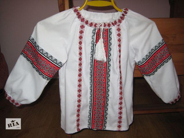 купить бу вышитая рубашка детская в Тернополе