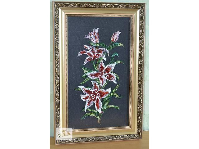 """Вышитая картина бисером,, Аленький цветочек""""- объявление о продаже  в Днепре (Днепропетровске)"""