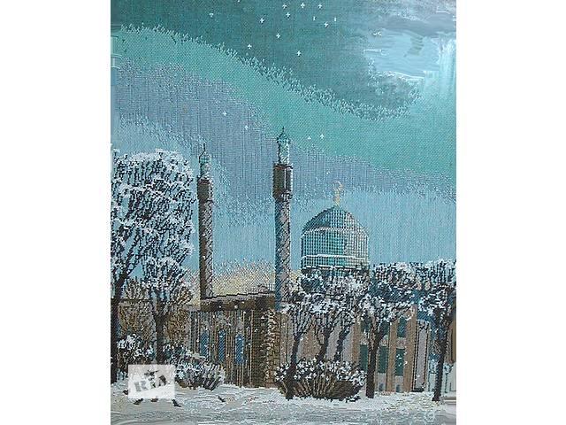 продам Вышитая картина «Санкт Петербургская мечеть» бу в Киеве