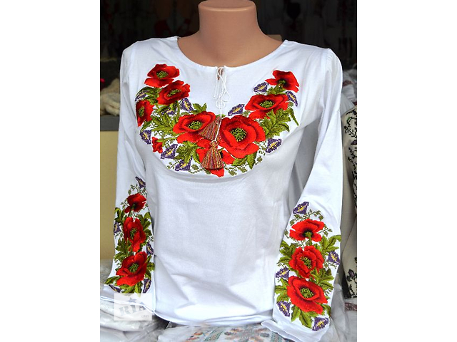 Вышитые рубашки,блузки,платья,плахты  - объявление о продаже   в Украине