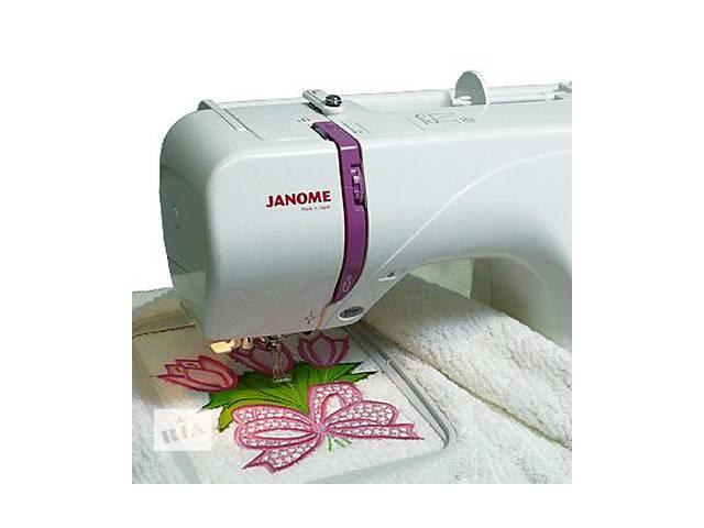 купить бу Вышивальная машинка JANOME 350E в Киеве