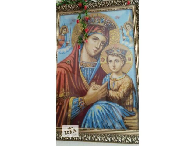 Вышитые иконы- объявление о продаже  в Тысменице