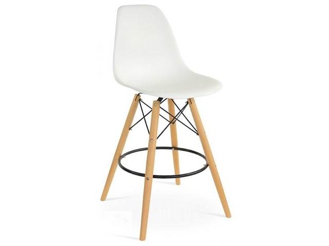 купить бу Высокие барные стулья AC-016WH для барных стоек кафе, кухни дома, бара, бистро, фастфуда, салона, студии купить Киеве в Киеве