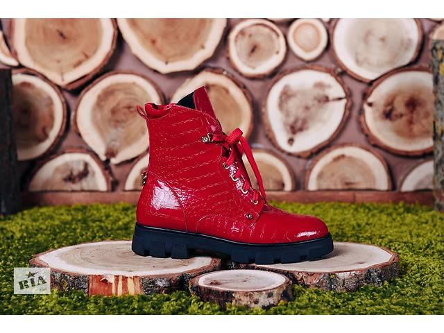 Высокий ботинок на шнурках код Брукб6- объявление о продаже  в Николаеве