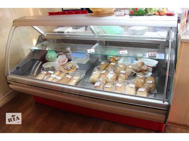 купить бу Продам витрину холодильную кондитерскую РОСС, длина 1,8 метра в Киеве