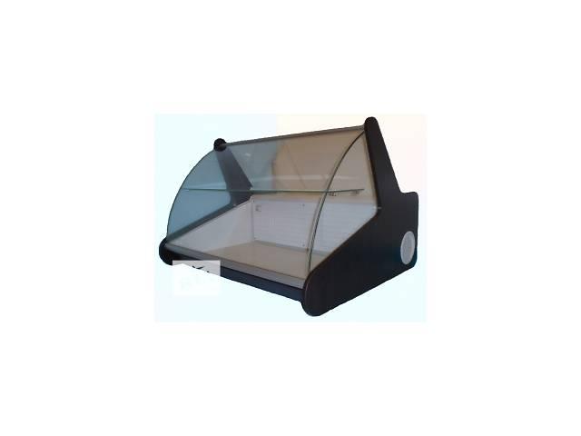 купить бу Витрина холодильная ДНІПРОторг  настольная с гнутым стеклом в Днепре (Днепропетровск)