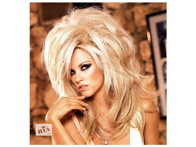 купить бу Выведение с черного( темного) цвета волос в блонд\ смывка, снятие, смена цвета в Киеве