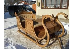Нові Санки дерев'яні