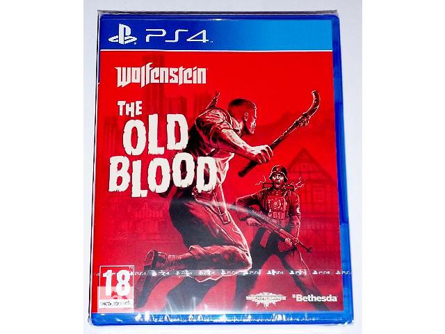 купить бу Wolfenstein The Old Blood PS4 диск новый / рус. версия в Запорожье