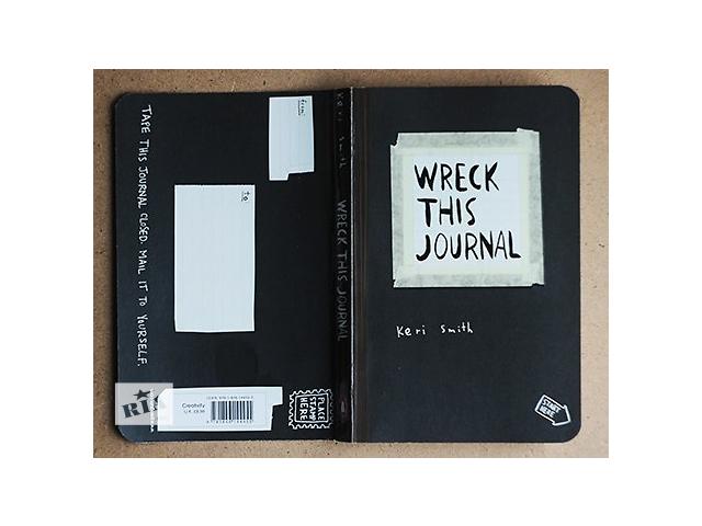 купить бу Wreck This Journal/Keri Smith/Оригинальное издание в Киеве