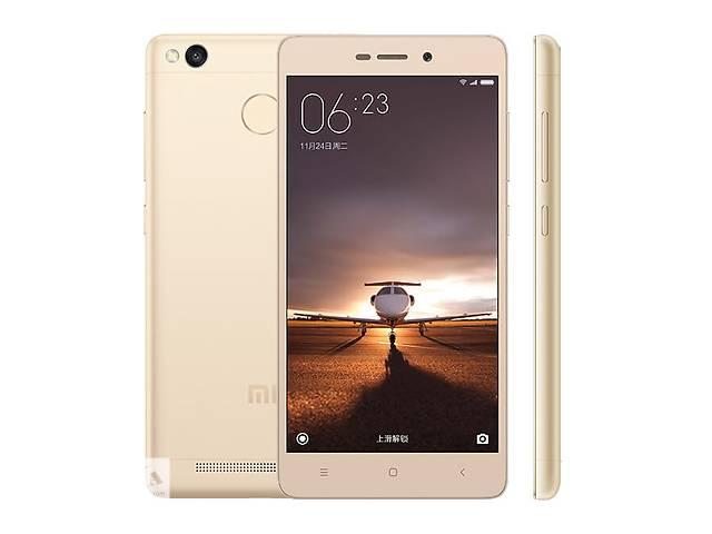 купить бу Xiaomi Redmi 3s pro Gold 3/32, новый, +бампер +пліка в Тернополе