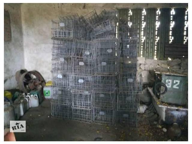 бу Ящики для бутылок железные в Виннице