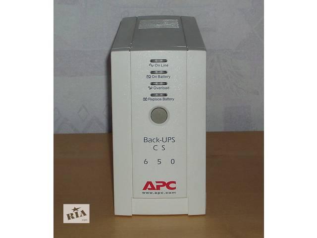 купить бу ИБП APC Back-UPS CS 650VA (BK650EI) в Киеве
