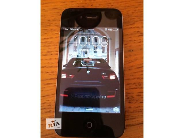 бу идеал Neverlock 8gb круто идеальное гарантия состояние айфон iphone 4 в Виннице