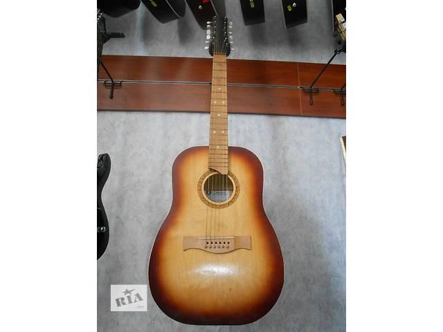 купить бу ( 1311 ) Идеальная Черниговская 12-ти струнная Гитара как Новая в Чернигове