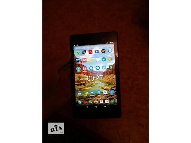 Идеальное состояние Nexus 7 32 Gb (2013) + кожаный чехол/коробка/зарядка/документы- объявление о продаже  в Днепре (Днепропетровске)