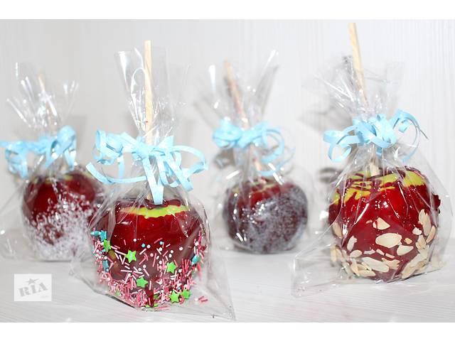 Идея для подарка - яблоки в карамели- объявление о продаже   в Украине