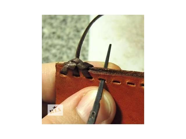 бу  Иглы для плетения кожаной тесьмой. Инструмент для работы с кожей в Ирпене