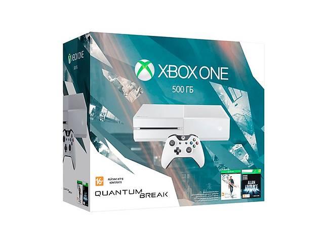 купить бу Игровая консоль Xbox One 500GB+Quantum Break+Alan Wake Limited в Киеве
