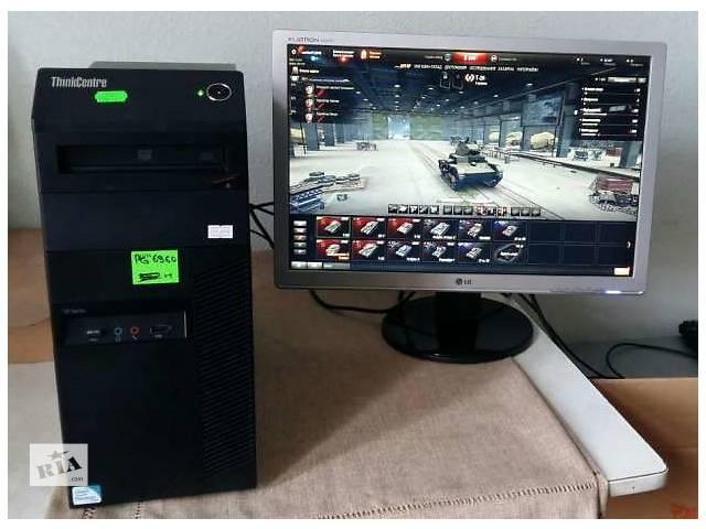 """Игровой комплект Компьютер Lenovo 4 ядра i5 GeForce 1GB+Монитор LG 22""""- объявление о продаже  в Киеве"""