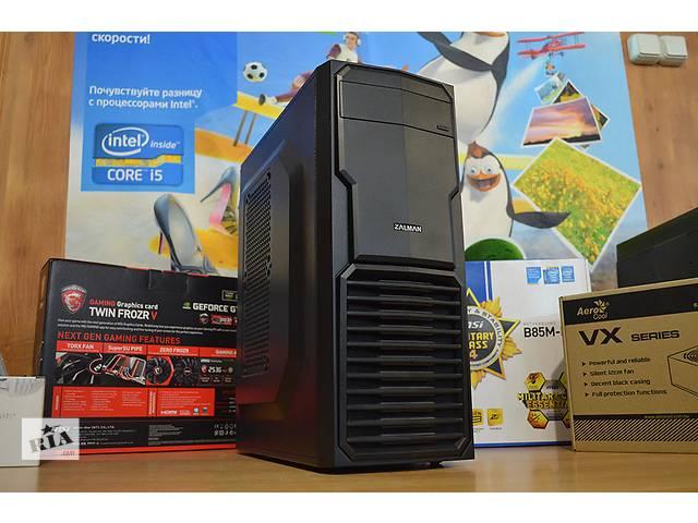 купить бу игровой компьютер АMD FX-4300 3,8GHz+GTX 750 Ti 2GB+ОЗУ 8GB+750GB HDD в Харькове