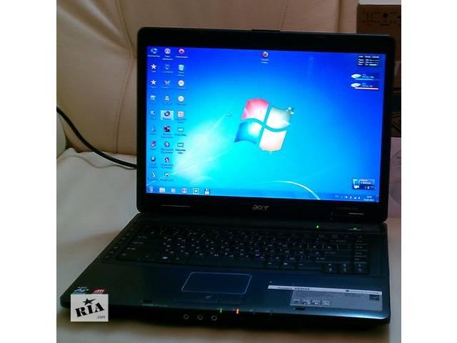 купить бу Игровой  ноутбук Acer TravelMate 5520 (тянет танки). в Киеве