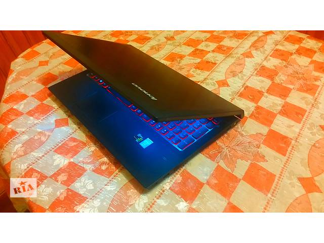 купить бу Игровой ноутбук! Lenovo XR50 P2020M 2x2.4GHz Nvidia GTX 850M 2GB 60GB HDD 4GB RAM Клавиатура с красной подсветкой в Нетешине