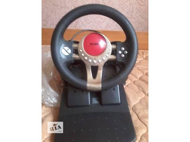 Игровой руль для пк- объявление о продаже  в Покровске (Красноармейске)