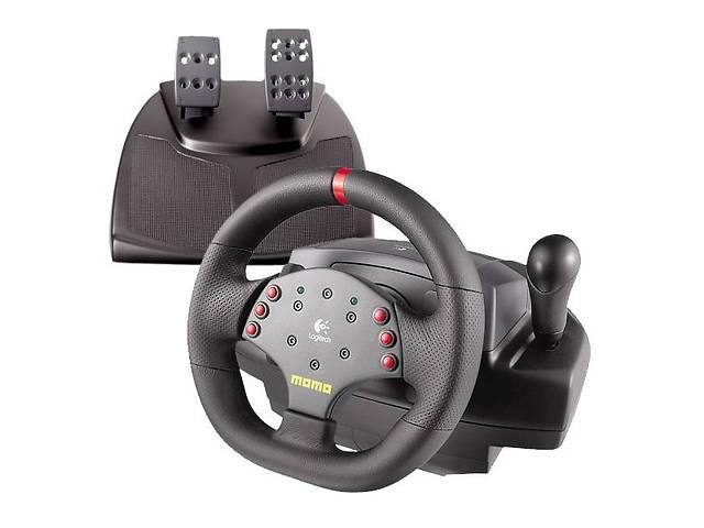 продам Игровой руль-симулятор Logitech MOMO Racing Force бу в Николаеве