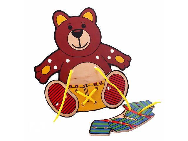 продам Игрушка деревянная Медвежонок бу в Киеве
