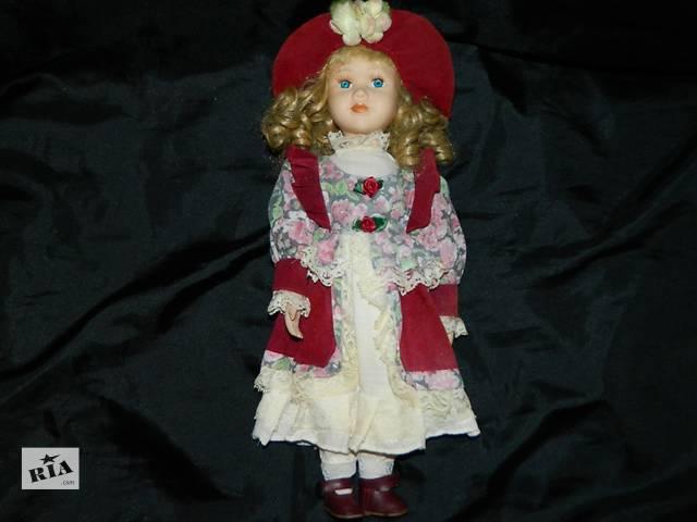 бу Винтажная Интерьерная Коллекционная фарфоровая кукла  в Тернополе