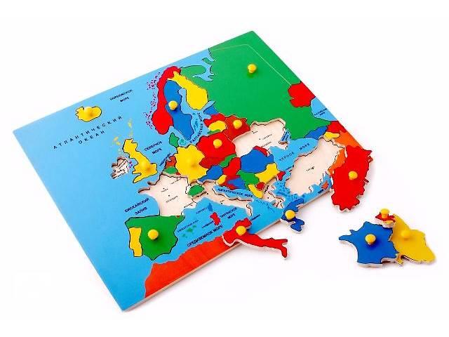 продам Игрушка Карта Европы бу в Киеве