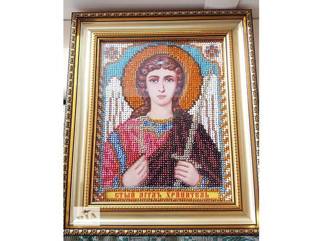 купить бу Икона Ангел Хранитель бисером РАСПРОДАЖА! 300 грн!  в Киеве