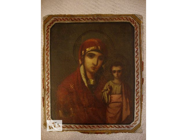 Икона антикварная начало XIX века (хоругва)- объявление о продаже  в Киеве