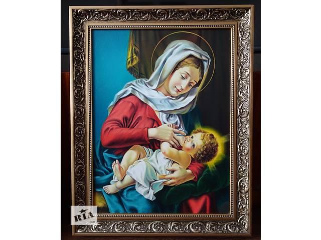 Икона маслом Мария Кормилица 50*35 Ручная работа- объявление о продаже  в Львове