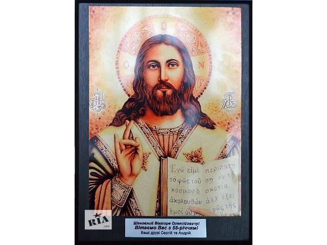 купить бу Икона на металле печать на металле с деревянной основой подарок на крестины картина на заказ Святая икона  в Хмельнике