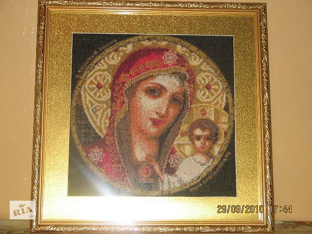 """Икона ручной работы """"Божия Матерь""""- объявление о продаже  в Одессе"""