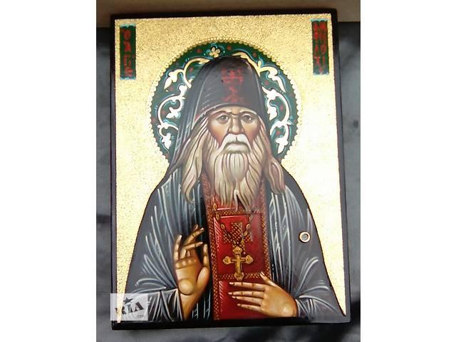 бу Икона св. Амфилохий Почаевский с мощевиком в Червонограде