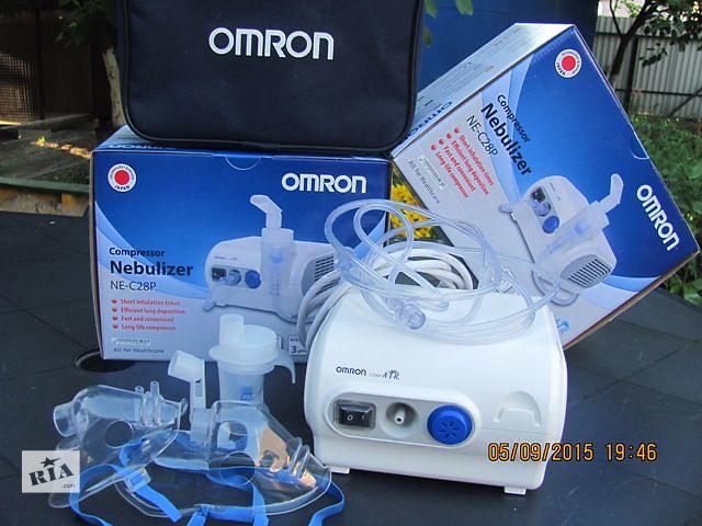 продам Ингалятор компрессорный небулайзер для детей Омрон 28Р за 1550 грн   бу в Киеве
