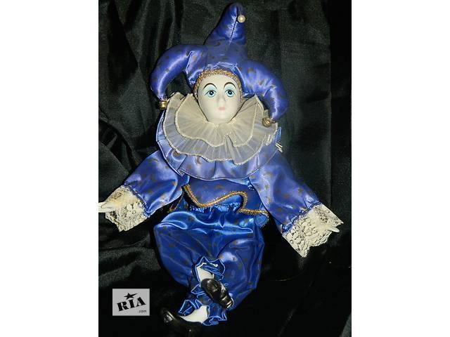 продам Интерьерная Фарфоровая Кукла Арлекин бу в Тернополе
