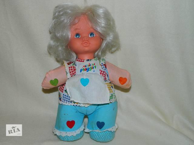 Винтажная Кукла Musical Playgirl Hong Kong 80х- объявление о продаже  в Тернополе