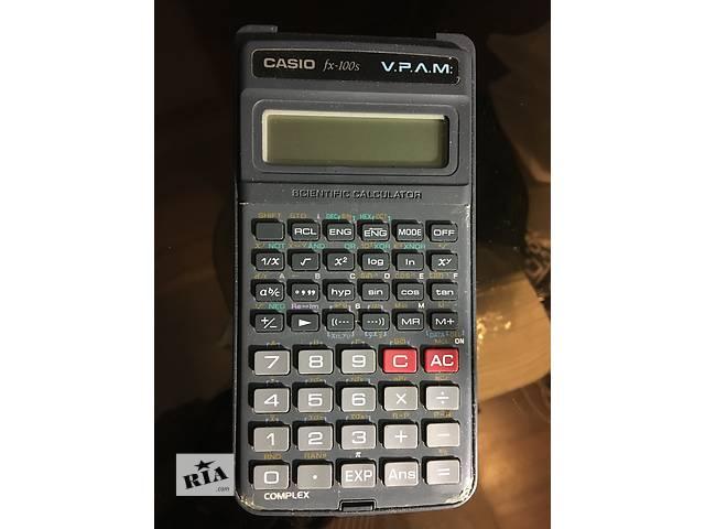 бу Инженерный калькулятор Casio Fx-100s в Киеве