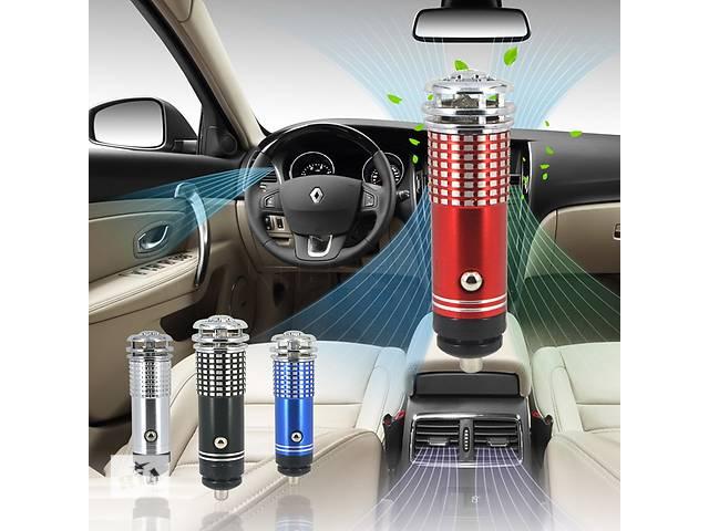 купить бу ионизатор-очиститель воздуха автомобильный 12в в Харькове
