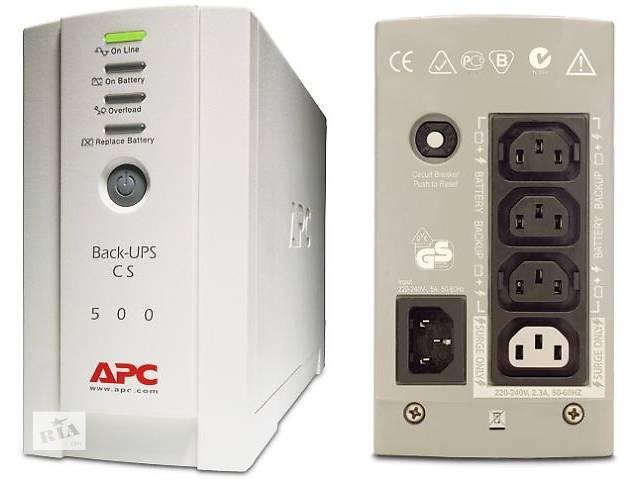 купить бу Источник бесперебойного питания APC Back-UPS CS 500 в Киеве