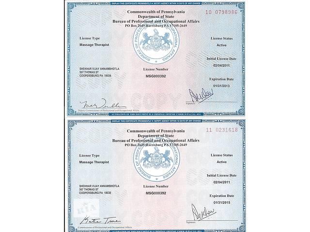 купить бу Итальянский массажист с сертификатом США в Киеве