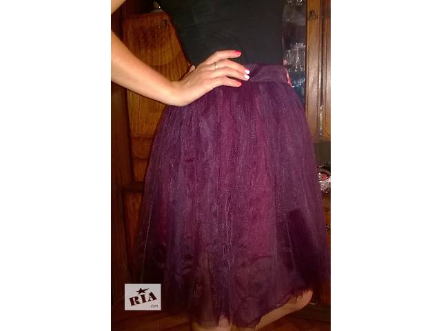 продам юбка-шатенка бу в Харькове