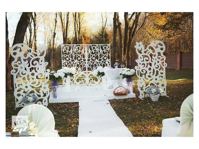купить бу Изделия из пенопласта (свадебные арки, объемные буквы, фотобутафория)  в Украине