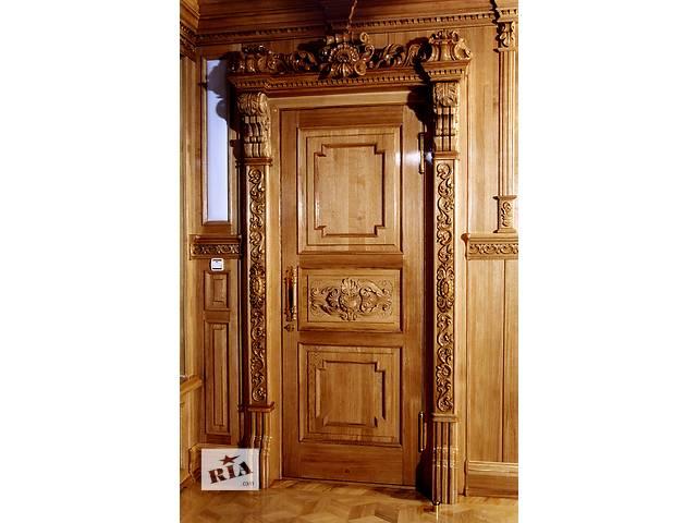 Изготавливаем деревянные двери на заказ- объявление о продаже  в Одессе