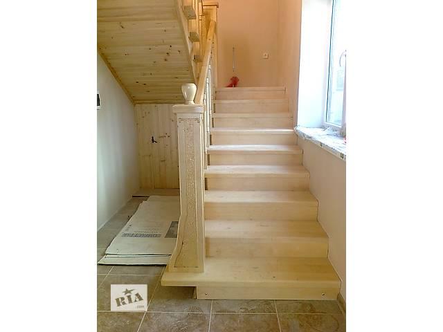 бу Изготовление лестниц и пролетов под ключ в Тернопольской области