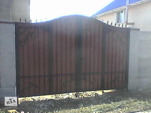 бу Изготовление металлоконструкций для дома ворота в Одессе